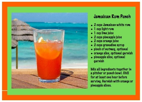 Recipe for jamaican rum punch beverage recipes for Best soda with rum
