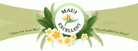 Home of Maui Excellent™  Aromatheray Infused Therapeutic Body Bath & Massage Products
