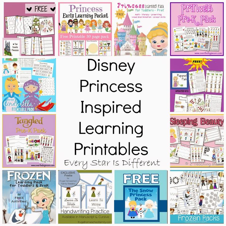 free disney inspired learning printable packs activities princess gamesdisney