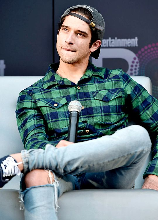 Tyler Posey attends Entertainment Weekly's PopFest at The Reef on October 30, 2016 in Los Angeles, California.