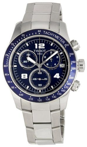Tissot Men's T0394171104700 V-8 Chronograph Watch: Watches: Amazon.com