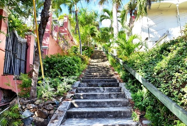 Walk these 99 steps up to Blackbeard's Castle on St. Thomas to visit the 17th century lookout that rumor has it was used by the pirate himself.