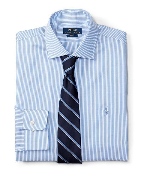 Slim-Fit Stretch Oxford Shirt - Polo Ralph Lauren Sale - RalphLauren.com