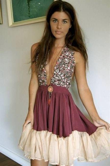 Cool Hippie prom dresses 2018-2019