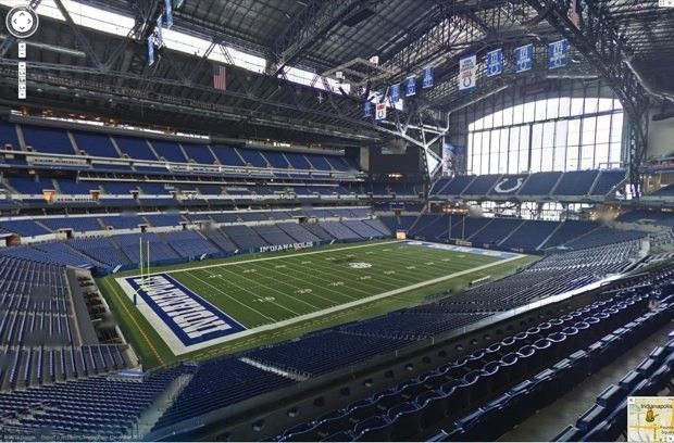 Google Maps goes inside an NFL stadium for first time, takes fans on a virtual tour of the Colts' home