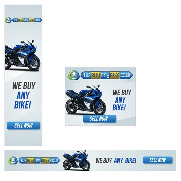 Webuyanybike.co.uk are in need of some flash web banners by on3-step!