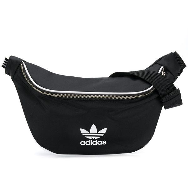 Adidas waist belt bag ($50) ❤ liked on Polyvore featuring bags, black,