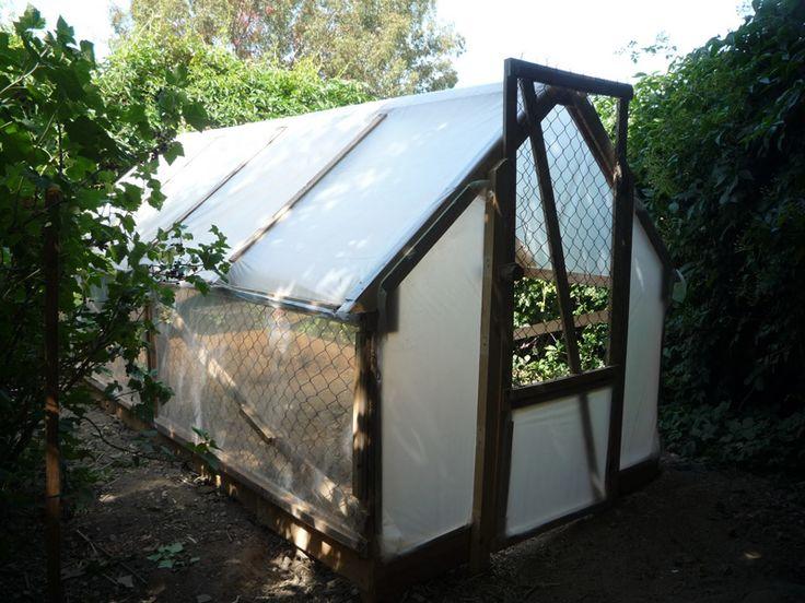 5 Euro Pallet Wood Greenhouse