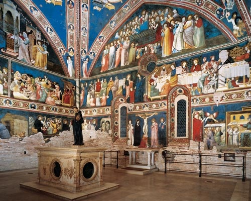 #Tolentino: Church of St Nicholas, Great Chapel - Marche - Italy