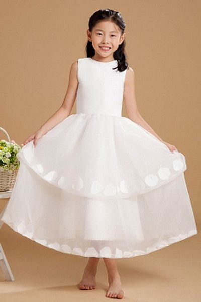 Ball Gown Strapless Organza Flower Girl Dresses ted1129 - SILHOUETTE: Ball Gown; FABRIC: Organza; EMBELLISHMENTS: Applique , Bowknot , Tiered; LENGTH: Floor Length - Price: 74.6500 - Link: http://www.theeveningdresses.com/ball-gown-strapless-organza-flower-girl-dresses-ted1129.html