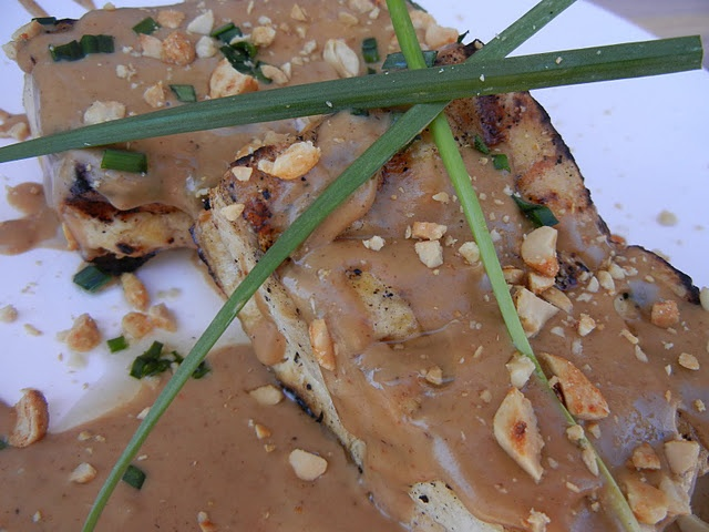 Braised Tofu In Spicy Sesame, Peanut Sauce Recipes — Dishmaps