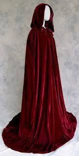 Afbeeldingsresultaat voor long cloak pattern with hood