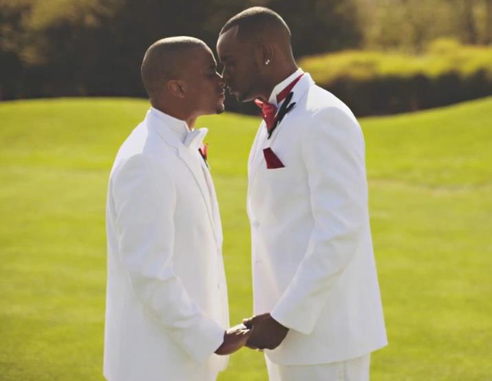 Gay Male Men Kiss Love Black My Idea Of Romance