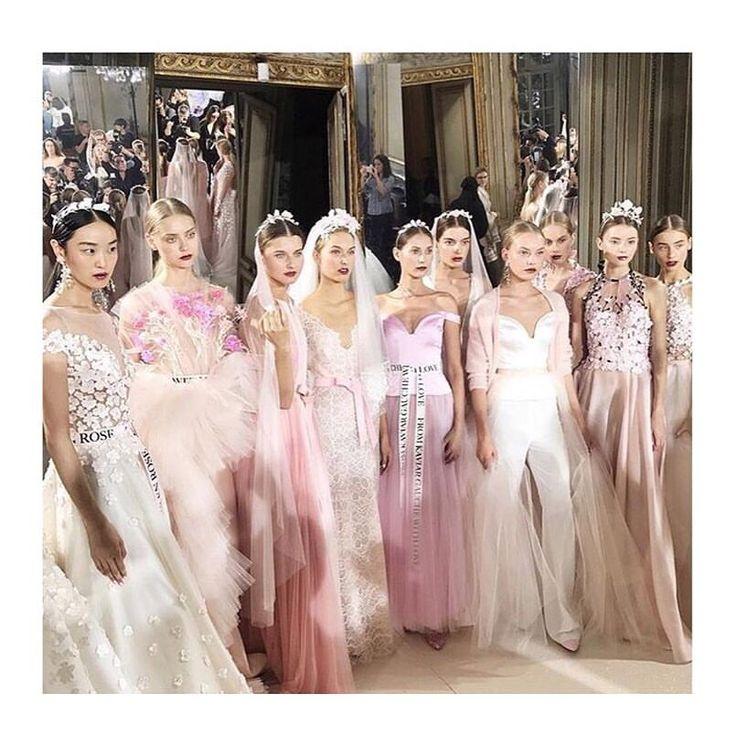 "1,331 Likes, 1 Comments - ♡ Kaviar Gauche ♡ (@kaviargauche_official) on Instagram: ""La vie en rose 🌹#theshowisover #kaviargauche_official #kaviargauchegoestoparis #pfw #fashionweek…"""