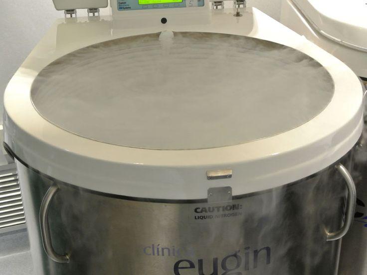 El Laboratorio de Clínica eugin: sala de crioconservación