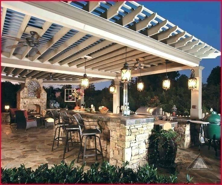 Outdoor Kitchen Pendant Light Google Search Outdoor Kitchen Lighting Outdoor Kitchen Design Backyard Pergola