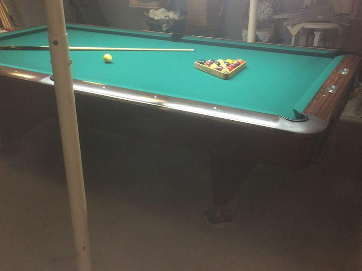 9' Brunswick Billiards Gold Crow III