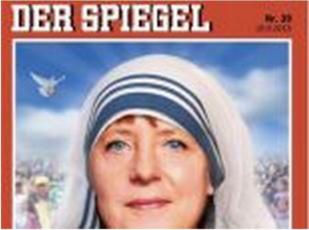 Avec amour: «Μητέρα Άνγκελα». Η Μέρκελ ως μητέρα Τερέζα στο εξ...