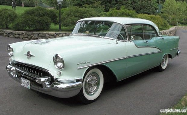 1955 oldsmobile 98 holiday hardtop sedan vintage for 1955 oldsmobile 4 door hardtop