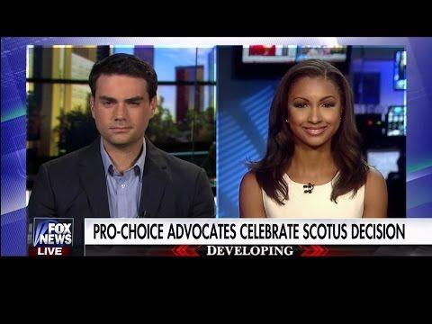 Pro-Choice Advocates Celebrate SCOTUS Decision - Eboni Williams - Ben Shapiro - YouTube