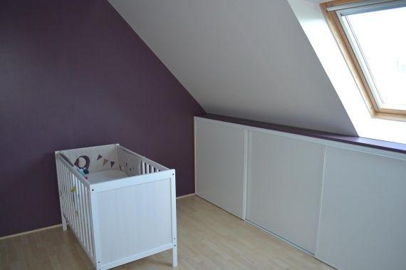 améngament combles chambre bébé