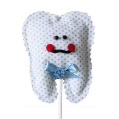 Mavi Diş Süs Çubuğu - 6 Adet