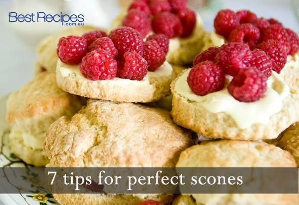 Best Recipes tips for making the best scones.  Find 150+ delicious scone recipes here: http://www.bestrecipes.com.au/category/Scones/index.html