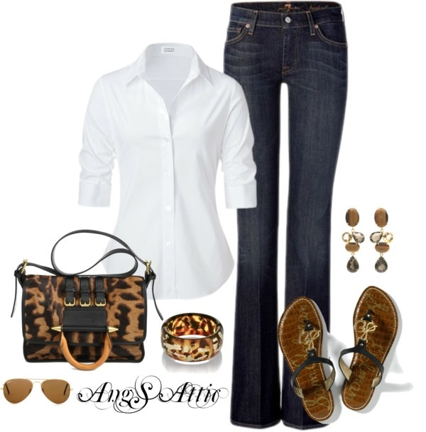 Everyday Staple, created by angsattic on Polyvore: Everyday Outfit