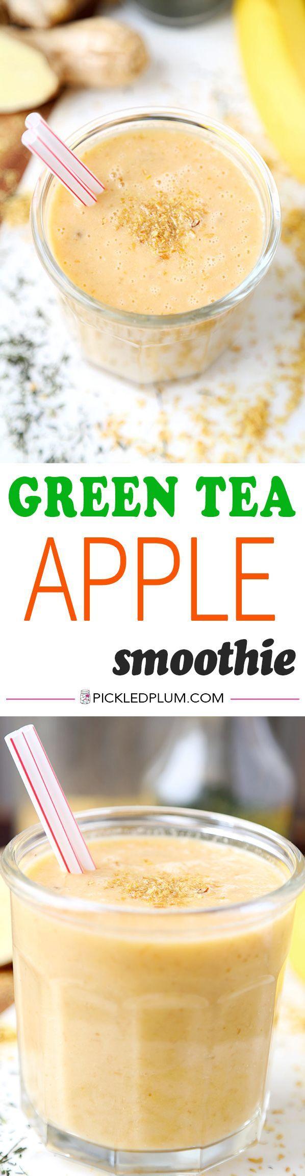 Green Tea Apple Smoothie   Pickled Plum