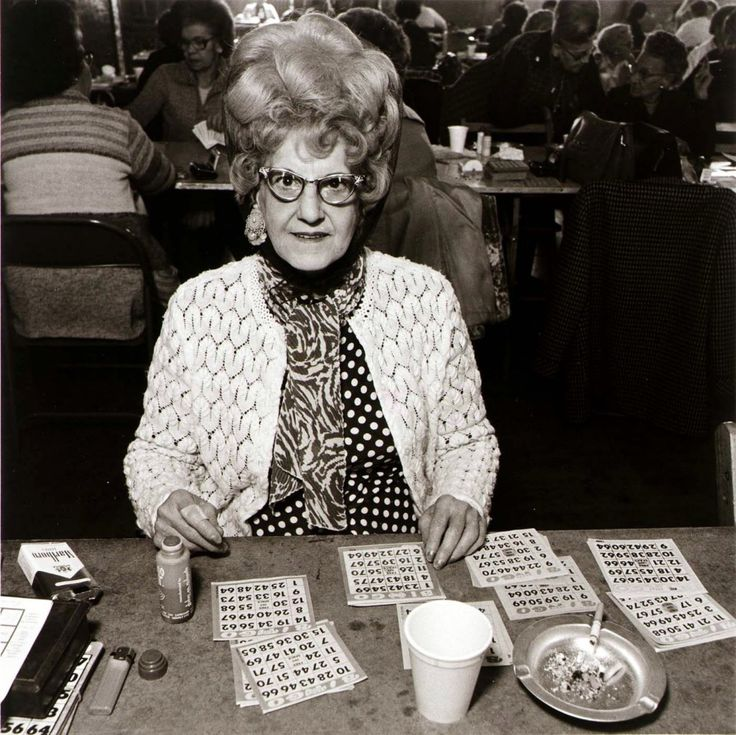 What are the participation rates in people playing bingo?