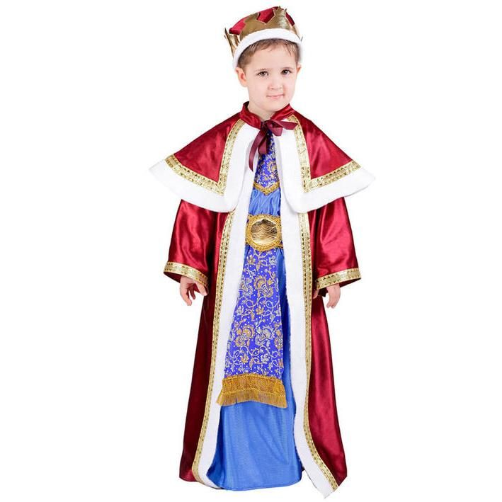 Disfraz rey melchor para niño