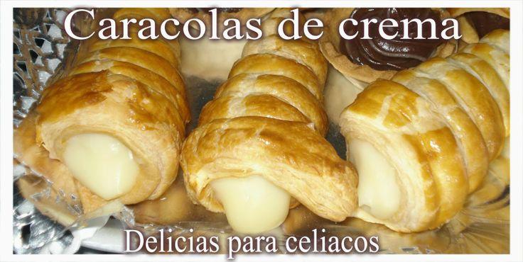 Delicias Para Celiacos: Caracolas de crema