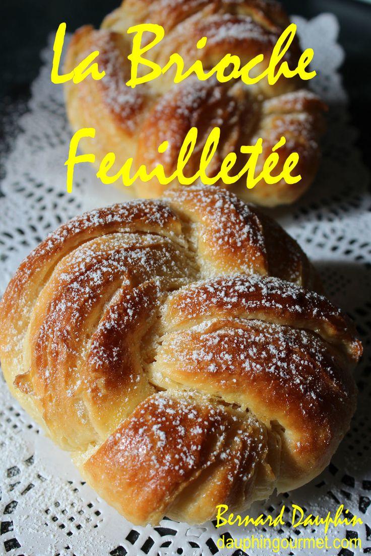 """C'est la plus fine des brioches - Réalisée en """"pâte danoise"""" (pâte levée…"""
