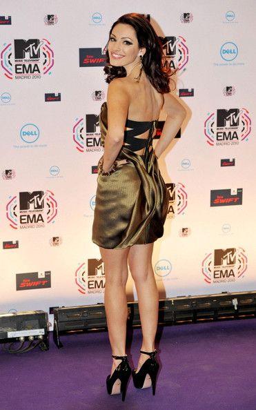 Kelly Brook Photos: MTV EMA's in Madrid