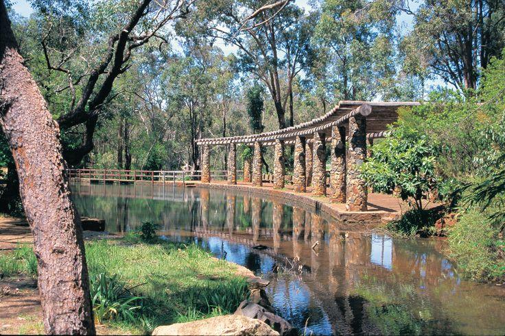 Heaven in the Hills. Araluen Botanic Park.