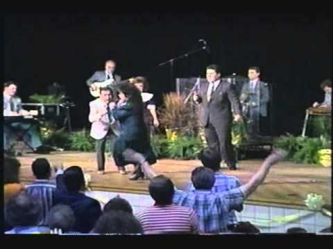 """The Perrys - """"This is Just What Heaven Means to Me"""" - From the video """"Little Thunder: Live!"""" - 1990 - Randy Perry, Denise Helton, Libbi Perry Stuffle, and Tr..."""
