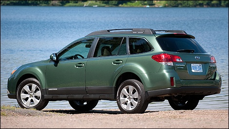 Subaru Outback- We just bought one.  A 2012, but this is the color.