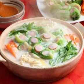 新感覚の家族ご飯!白菜ロールシチュー鍋 おしゃれな白菜シチューのレシピ