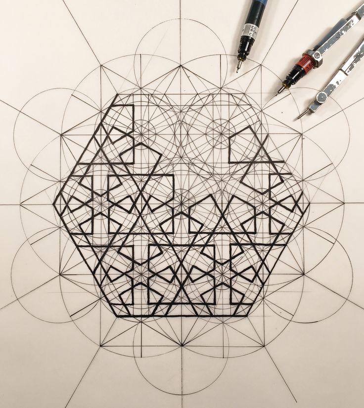 Arquiteto mescla arte e ciência através de ilustrações que seguem a proporção áurea