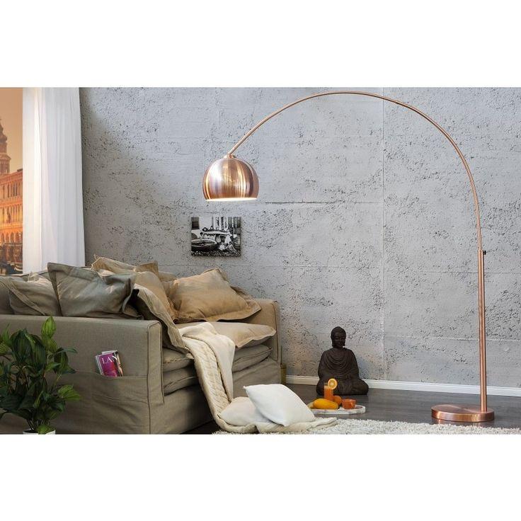 Vloerlamp Big Bow koper - 21599 - Staande lampen - Lampen