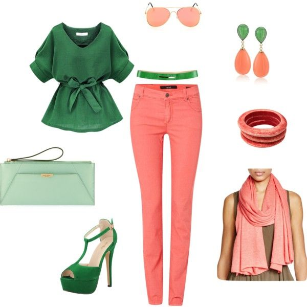 """Bright  """"spring is coming"""" set by besyata on Polyvore featuring мода, Oui, Tuleste, Ross-Simons, Echo, OBLIQUE and Henri Bendel"""