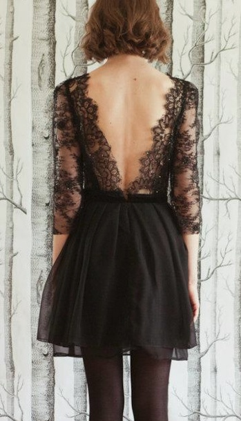 Sarah Seven Love the lace back and sleeves