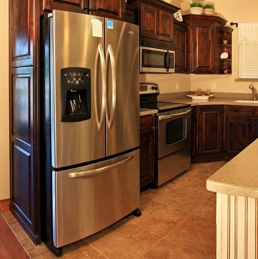 Kitchen Cabinets Refrigerator Surround: 16 Best Refrigerator Built In Images On Pinterest