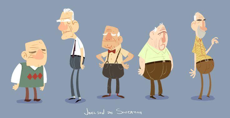 Grandpas by jfsouzatoons on DeviantArt