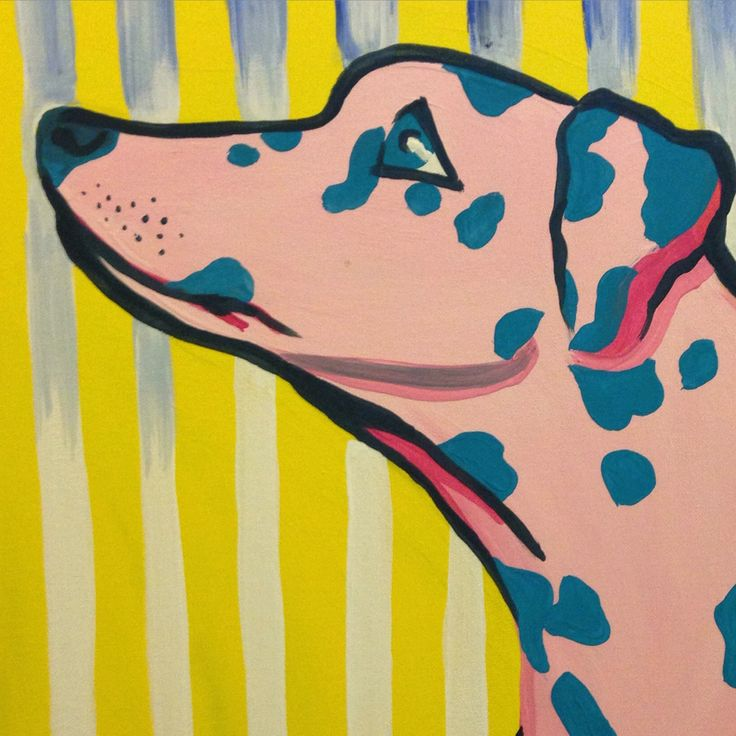 Doggies #dalmatiam #paint #painting #acrylic #stripes #love #doggies #dog #art #canvas