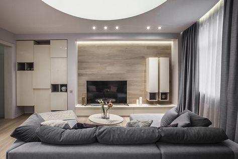 Хотите увидеть, как можно создать квартиру в современном минималистичном стиле, при