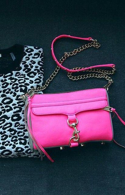 Leopard Print + Hot Pink