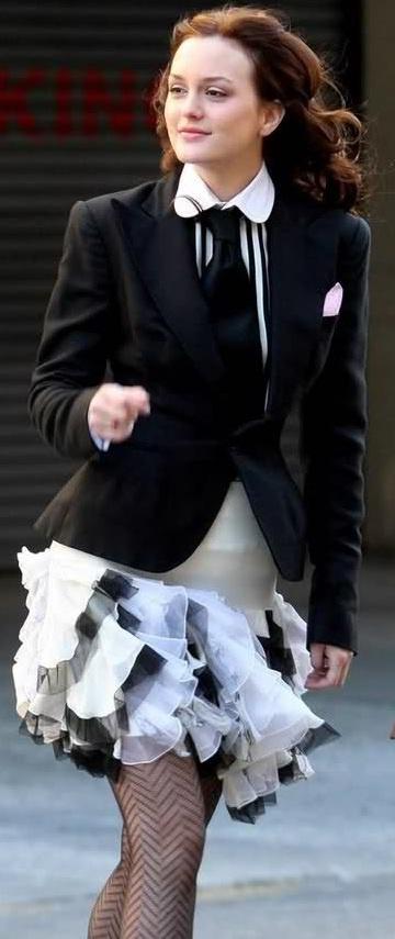GGS1: Blair Waldorf in Ralph Lauren