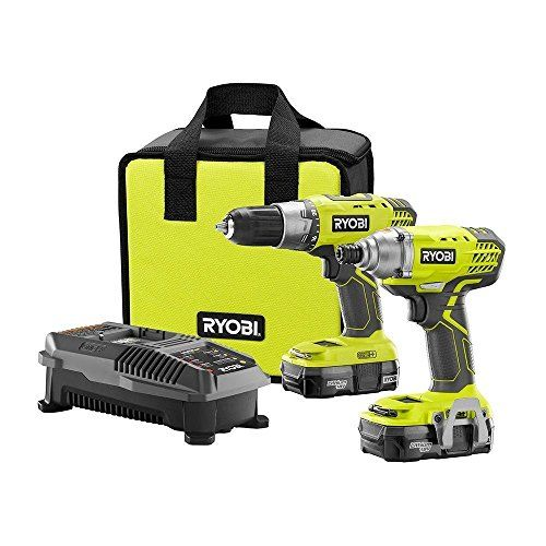 233 best tools images on pinterest electric power tools ryobi p1832 18v lithium ion drill and impact driver kit fandeluxe Gallery