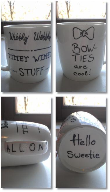 My Doctor Who mug